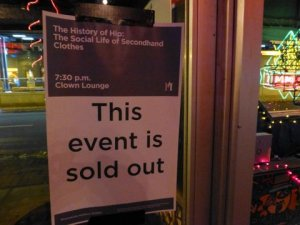 History of Hip January 8 2013 sold out