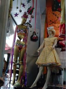 Vancouver vintage store mannequins